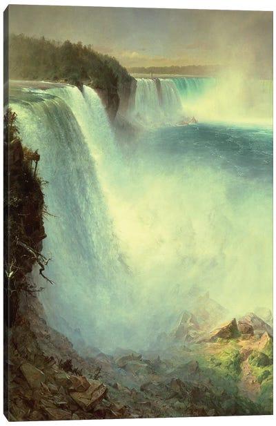Niagara Falls, from the American Side, 1867  Canvas Art Print