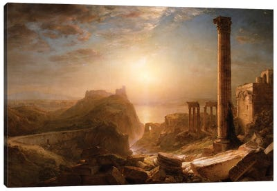 Syria by the Sea, 1873  Canvas Art Print
