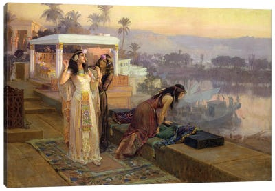 Cleopatra  on the Terraces of Philae, 1896  Canvas Art Print
