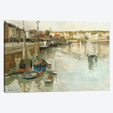 Dieppe, c.1894  Canvas Print #BMN10313} by Fritz Thaulow Canvas Art Print