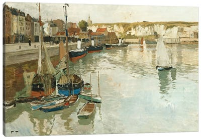Dieppe, c.1894  Canvas Art Print