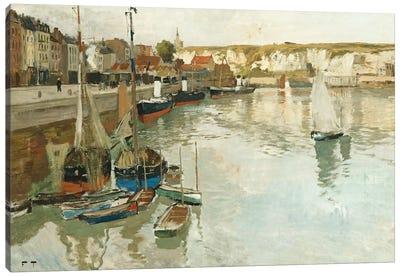 Dieppe, c.1894  Canvas Art Print