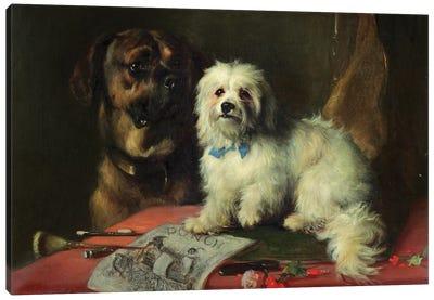 Good Companions  Canvas Art Print