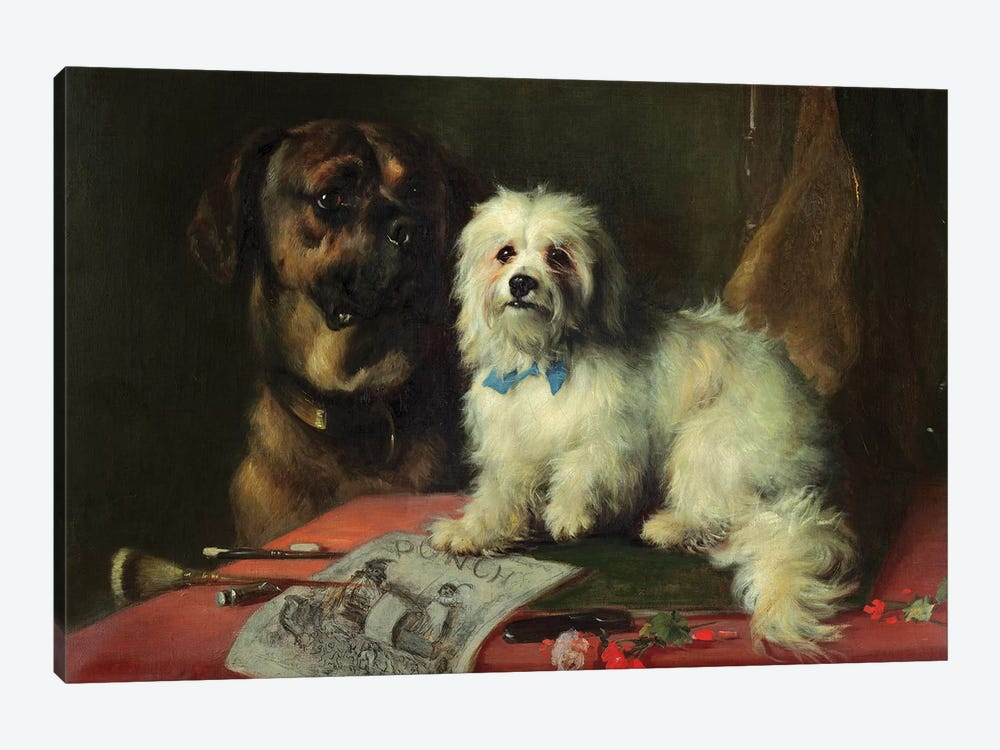 Good Companions  by Thomas Earl 1-piece Canvas Print