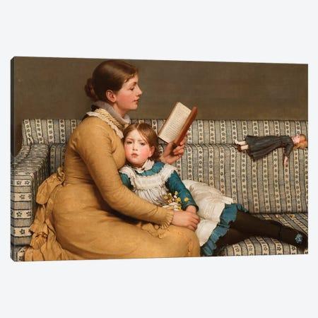 Alice in Wonderland, c.1879  Canvas Print #BMN10324} by George Dunlop Leslie Art Print