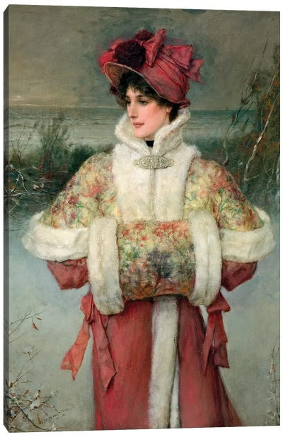 The Lady of the Snows, c.1896  Canvas Art Print