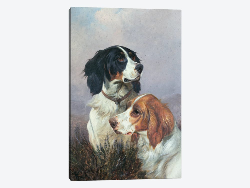 Setters on a Moor, 1892 by Colin Graeme 1-piece Canvas Wall Art