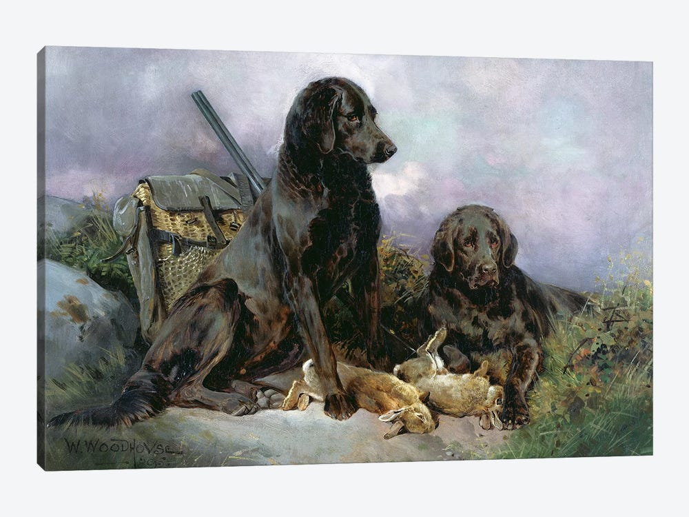 After the Shoot, 1895 by William Woodhouse 1-piece Art Print