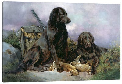 After the Shoot, 1895 Canvas Art Print
