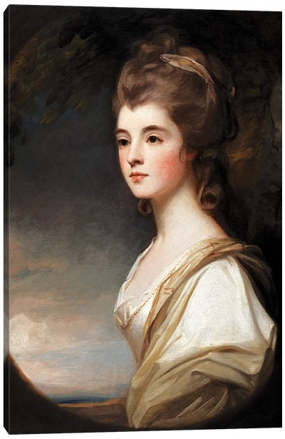 Elizabeth, Duchess of Sutherland, 1782  Canvas Art Print
