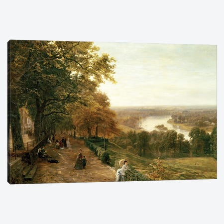 Richmond Hill, London, 1875  Canvas Print #BMN10357} by George Vicat Cole Canvas Art