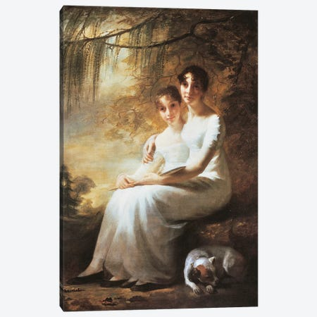 Reay Sisters, by George Watson  Canvas Print #BMN10359} by George Watson Canvas Print