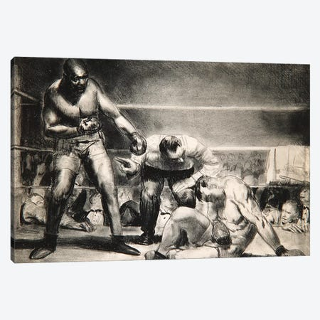 The White Hope, 1921  Canvas Print #BMN10366} by George Wesley Bellows Canvas Art Print