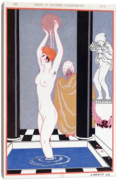 The Basin, 1914  Canvas Art Print