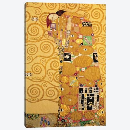 Fulfilment  Canvas Print #BMN1039} by Gustav Klimt Canvas Print