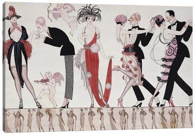 The Tango  Canvas Art Print