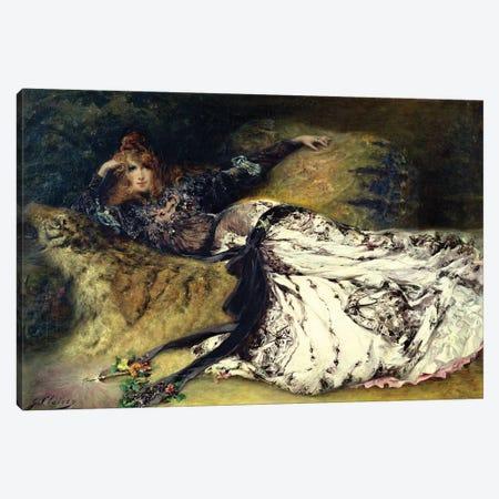 Sarah Bernhardt  1871  Canvas Print #BMN10412} by Georges Clairin Canvas Art