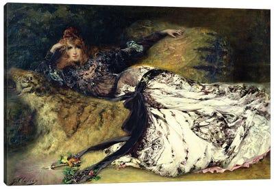 Sarah Bernhardt  1871  Canvas Art Print
