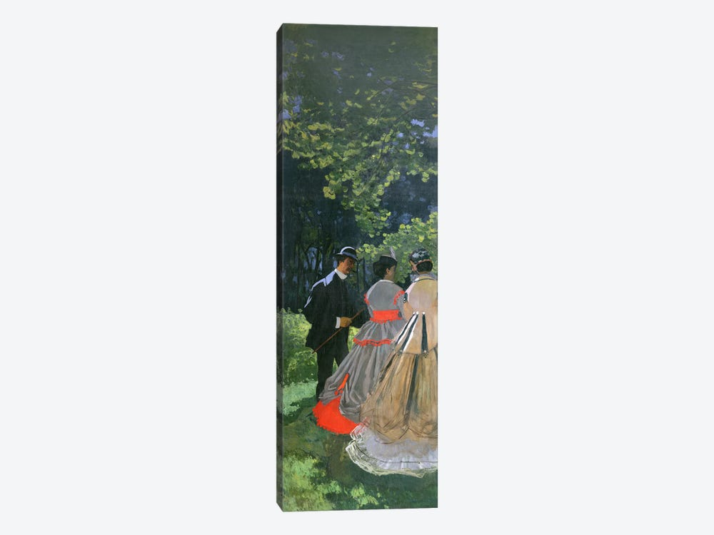 Dejeuner sur L'Herbe, Chailly, 1865 1-piece Canvas Artwork