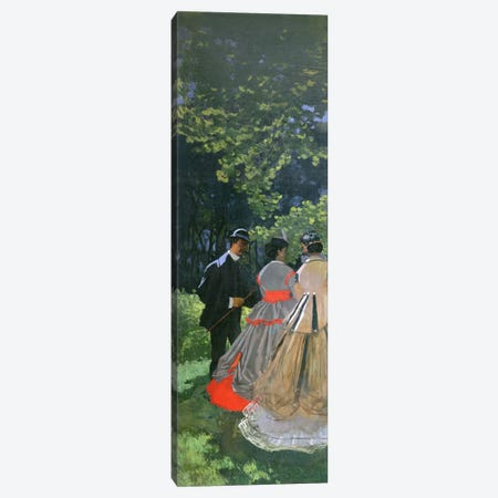 Dejeuner sur L'Herbe, Chailly, 1865  3-Piece Canvas #BMN1041} by Claude Monet Canvas Wall Art
