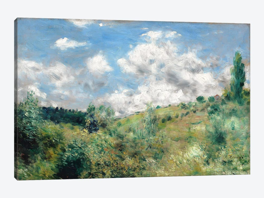 The Gust of Wind, c.1872 by Pierre-Auguste Renoir 1-piece Art Print