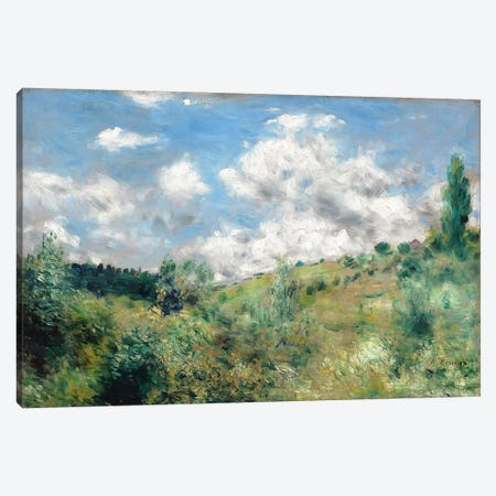 The Gust of Wind, c.1872  3-Piece Canvas #BMN1042} by Pierre-Auguste Renoir Canvas Wall Art
