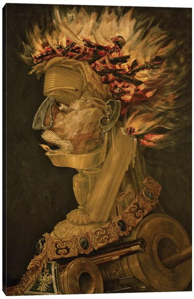 Fire, 1566  Canvas Art Print