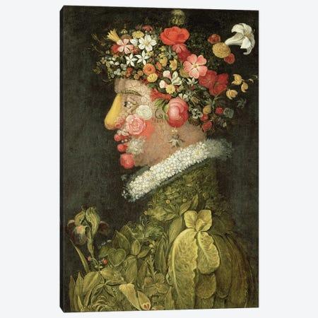 Spring,  Canvas Print #BMN10434} by Giuseppe Arcimboldo Canvas Print