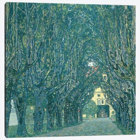 Avenue in the Park of Schloss Kammer, 1912   Canvas Print #BMN10446} by Gustav Klimt Canvas Art