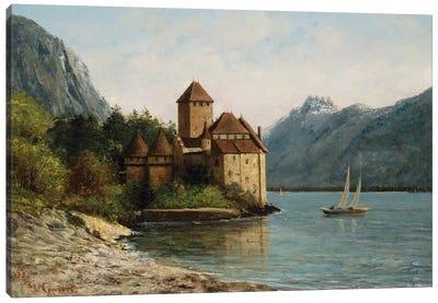 The Castle of Chillon, Evening, c.1872  Canvas Art Print