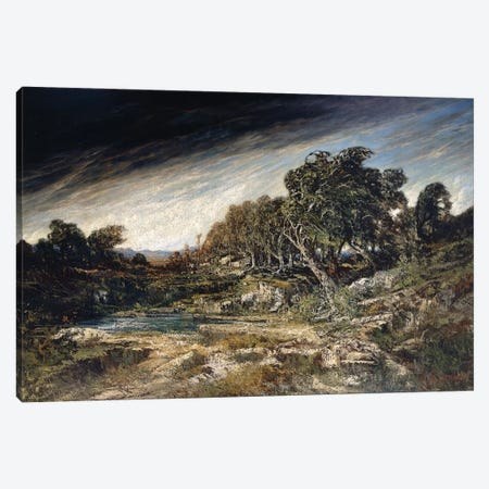 The Gust of Wind, c.1855  Canvas Print #BMN10467} by Gustave Courbet Canvas Artwork