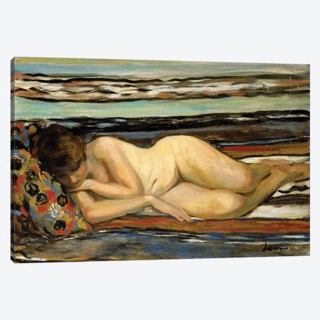 Nude Woman Sleeping; Nu Allonge,  Canvas Print #BMN10484} by Henri Lebasque Canvas Art