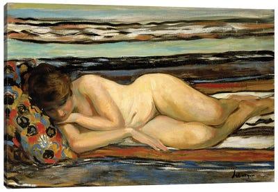 Nude Woman Sleeping; Nu Allonge,  Canvas Art Print