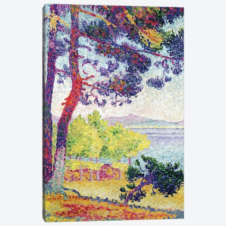 Afternoon at Pardigon, Var, 1907  Canvas Print #BMN10486} by Henri-Edmond Cross Canvas Art