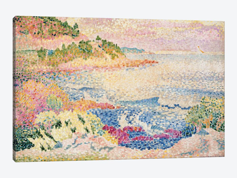 The Maures, c.1906-06  by Henri-Edmond Cross 1-piece Canvas Art