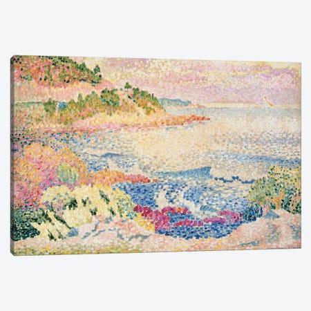 The Maures, c.1906-06  Canvas Print #BMN10489} by Henri-Edmond Cross Canvas Art Print