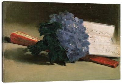 Bouquet of Violets, 1872  Canvas Art Print