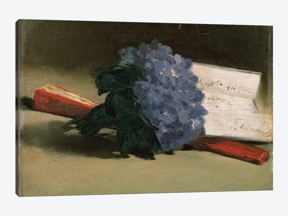 Bouquet of Violets, 1872  by Edouard Manet 1-piece Canvas Artwork