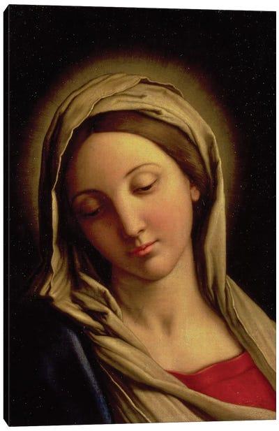 The Madonna Canvas Art Print