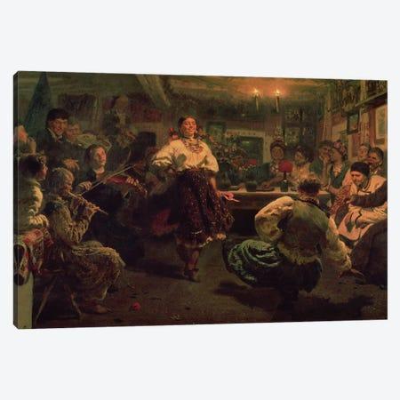 Country Festival, 1881  Canvas Print #BMN10512} by Ilya Efimovich Repin Art Print