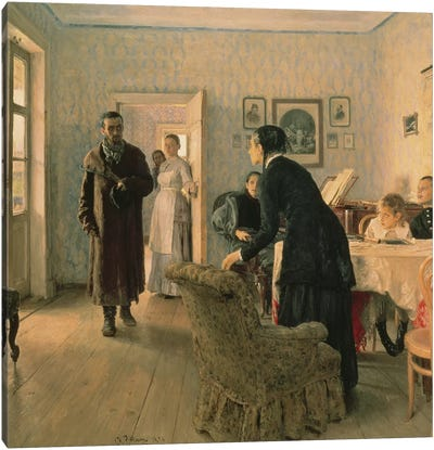 Unexpected, 1884-88  Canvas Art Print