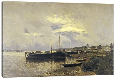 After Rain in Ples, 1889 Canvas Art Print
