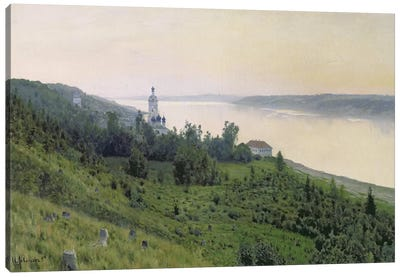 Cold Landscape, 1889 Canvas Art Print