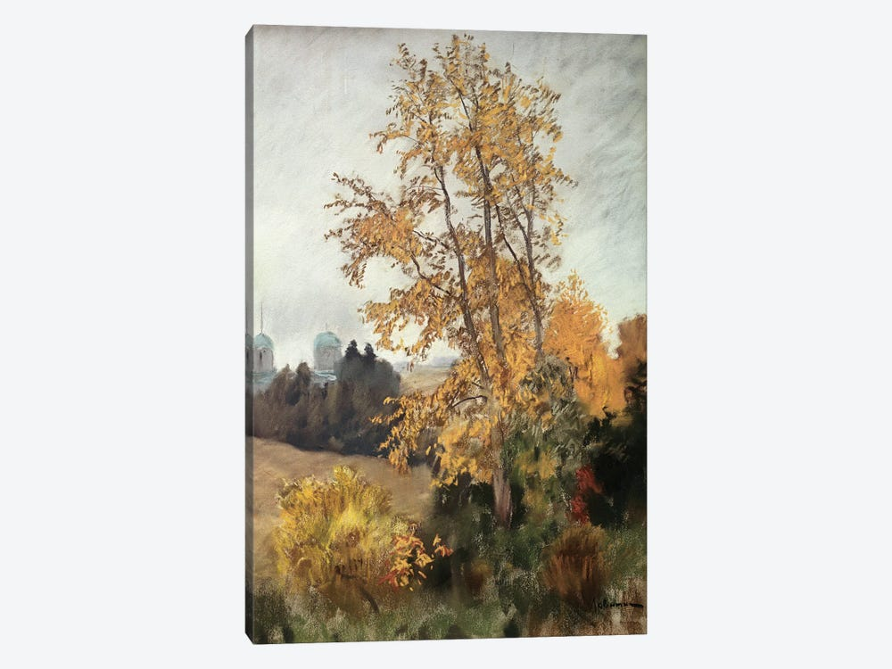 The Fall  by Isaak Ilyich Levitan 1-piece Canvas Print