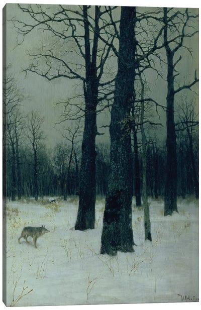 Wood in Winter, 1885  Canvas Art Print