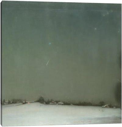 The Falling Star, 1909  Canvas Art Print