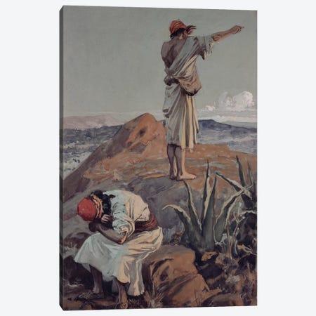 Elijah from Mount Carmel Sees a Cloud Afar Off  Canvas Print #BMN10531} by James Jacques Joseph Tissot Art Print