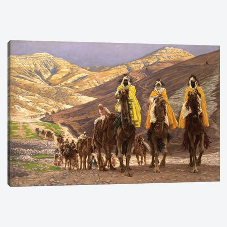 Journey of the Magi, c.1894  Canvas Print #BMN10532} by James Jacques Joseph Tissot Canvas Print