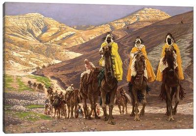 Journey of the Magi, c.1894  Canvas Art Print