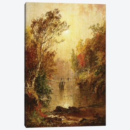 Autumn on the Wawayanda, 1877  Canvas Print #BMN10534} by Jasper Francis Cropsey Canvas Artwork